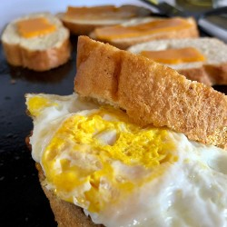 Fried Eggs on French Bread - FEoFB - 05 - Complete