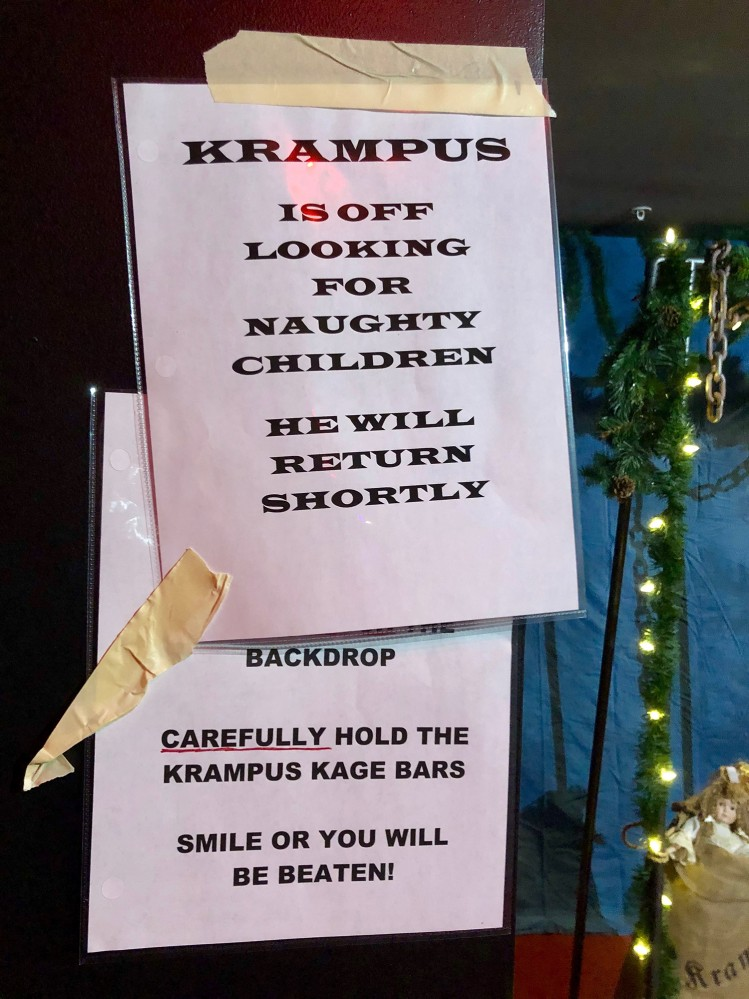 Krampus Creepy Curiosities and Oddities Market 2018 - 7