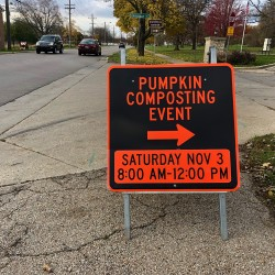 Pumpkin Composting Event - Pumpkin Composting Event - 1