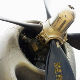 Boeing B-29 Superfortress propeller - photo print