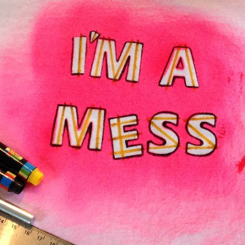 I'm a Mess - t-shirt - Additional Image 1