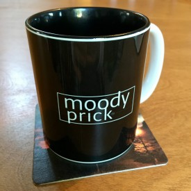 Moody Prick - two-tone mug