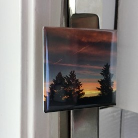 Sunset on Jun 26th, 2016 - 2 inch magnet