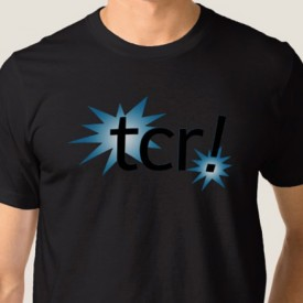 tcr! logo - t-shirt