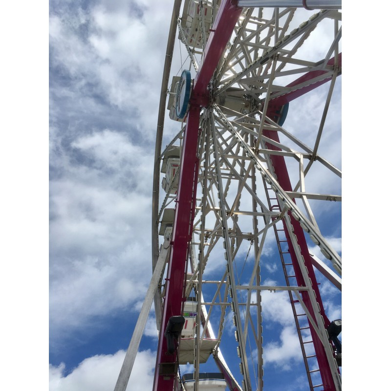 Kane County Fair Ferris Wheel - photo print - Primary Image