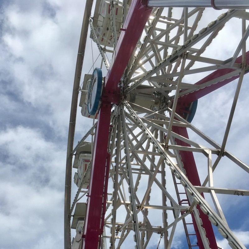 Kane County Fair Ferris Wheel - photo print - Additional Image 1