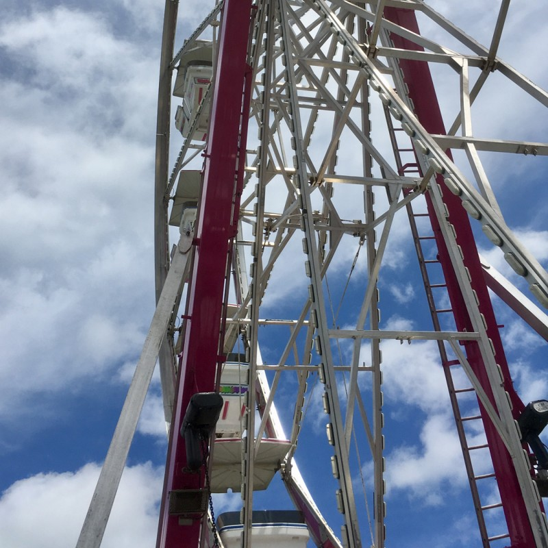 Kane County Fair Ferris Wheel - photo print - Additional Image 2