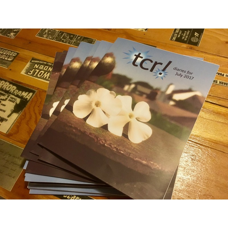 tcr! diaries - the magazine (subscription) - Primary Image
