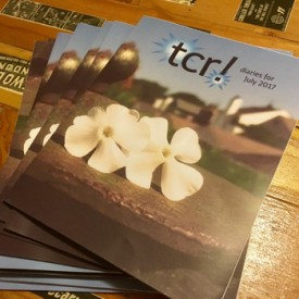 tcr! diaries – the magazine