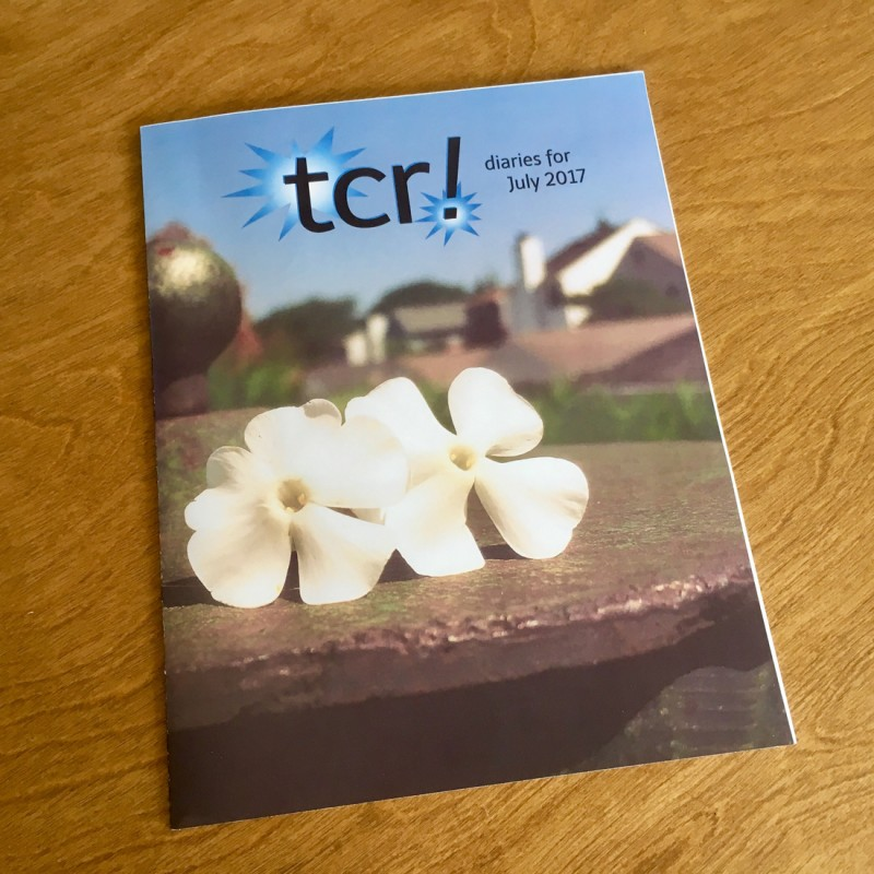 tcr! diaries - the magazine (singles) - Primary Image