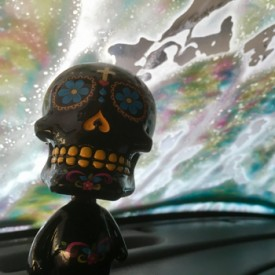 Truck wash, Sugar Skull is pleased - photo print