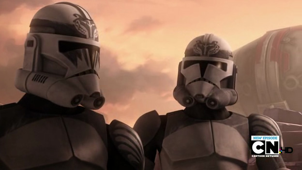 Clone Troopers war paint