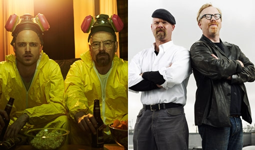 'Mythbusters' to do 'Breaking Bad' themed episode with Aaron Paul and Vince Gilligan