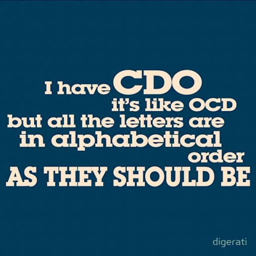 CDO - OCD Spelled Correctly
