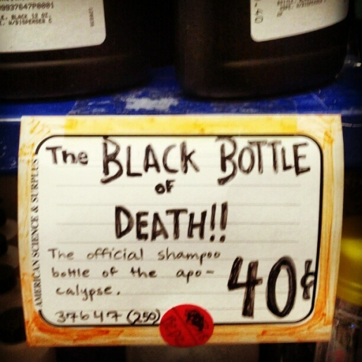 The Black Bottle of Death