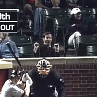 Comical Blowjob Gestures at Wrigley Field