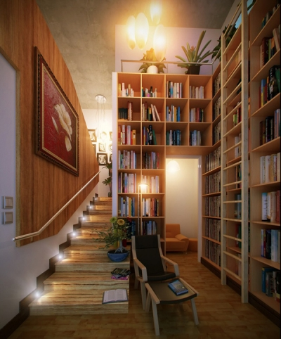 Stunning Home Library Design Ideas