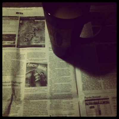 Roobios Blueberry Tea and the New York Times