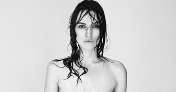 Keira Knightly Wants Everyone to See This Topless Pic of Her