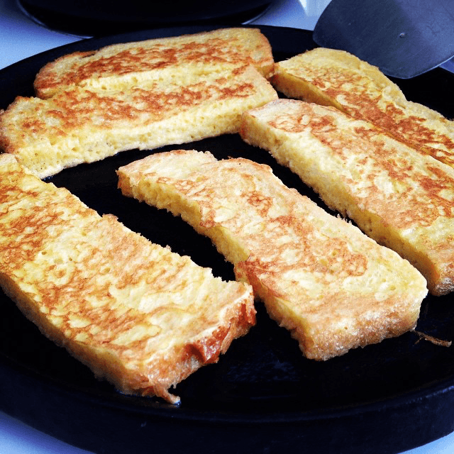 cinnamon sugar french toast sticks this morning 1
