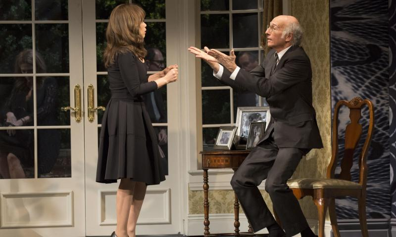 How Larry David's Fish in the Dark is already a Broadway smash