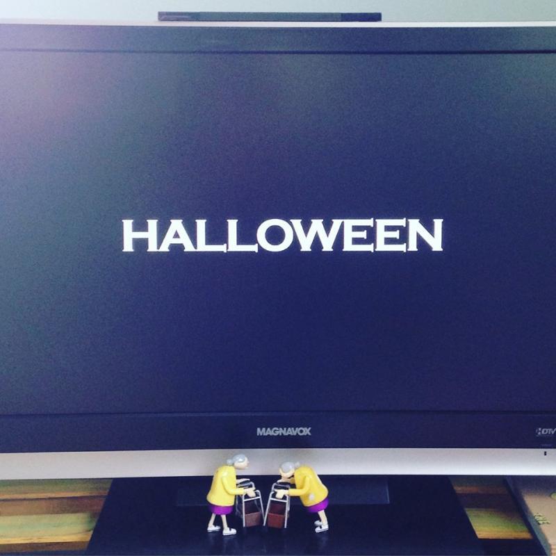 Halloween 2007 on the TV