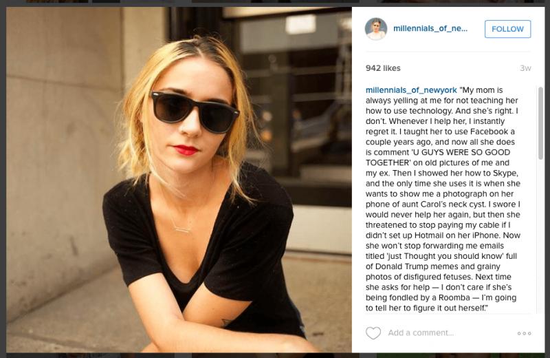 Instagram's Millennials of New York