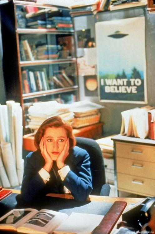 Scully wants to believe