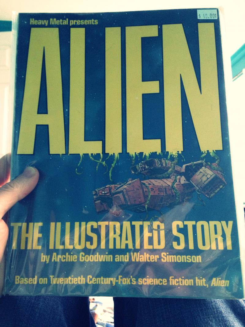 Heavy Metal   Alien the Illustrated Story
