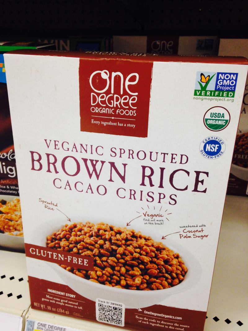 Veganic Sprouted Brown Rice Cacao Crisps
