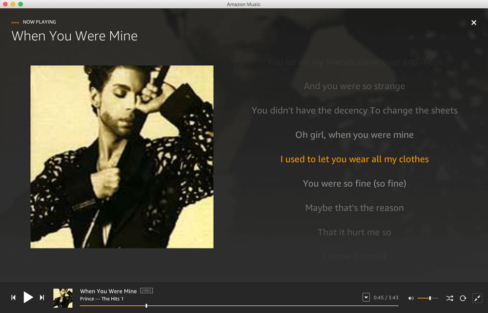When You Were Mine   best Prince song EVER
