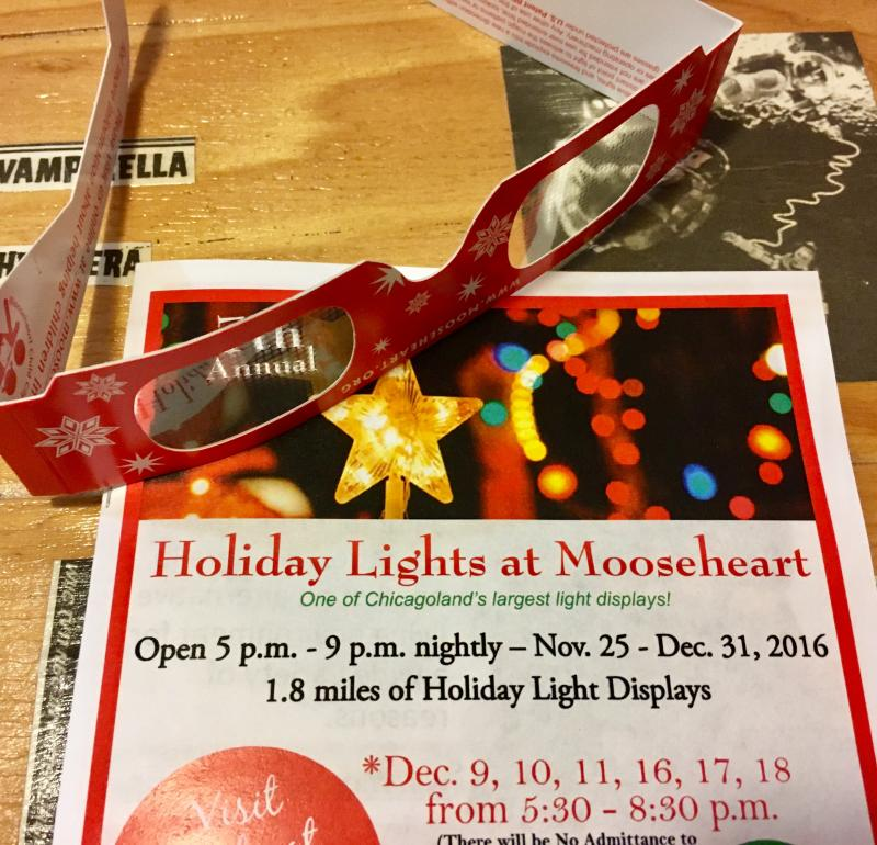 Holiday Lights at Mooseheart flier