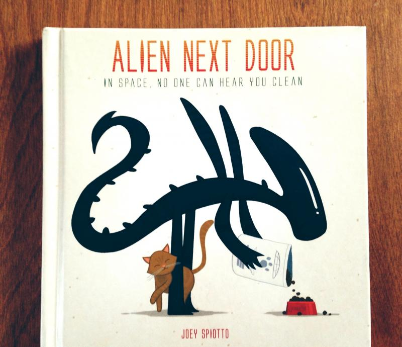 Alien Next Door book