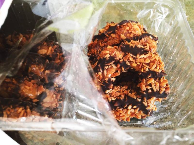 Girl Scout Samoas cookies