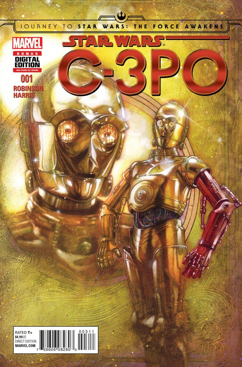 Marvel Entertainment - How did C-3PO get his red arm?!