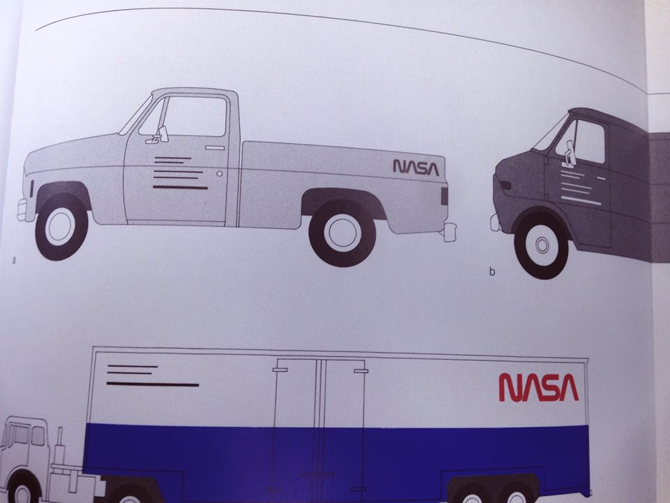 NASA truck graphics
