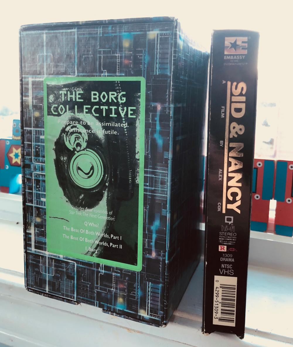 The Borg and Sid and Nancy on VHS