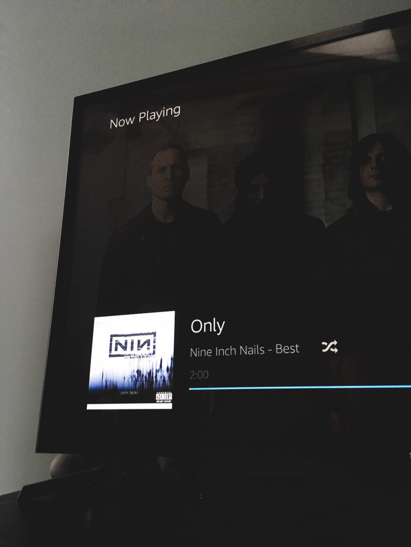 NIN on Fire TV and Amazon Prime Music