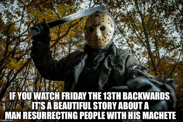 A beautiful Friday the 13th story
