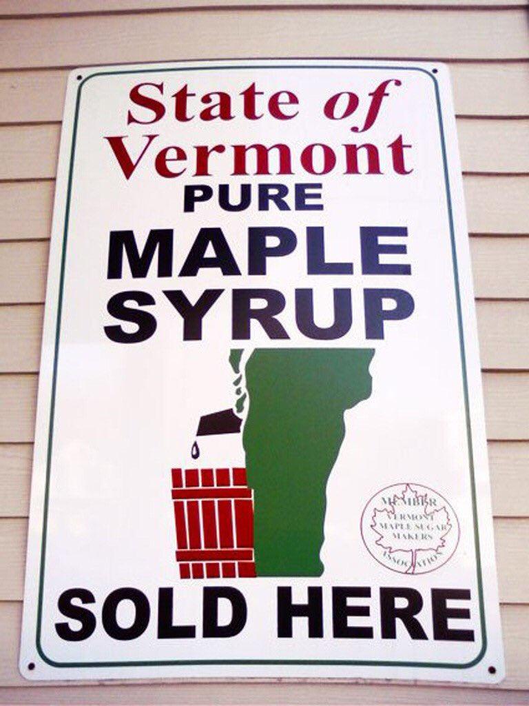 State of Vermont Pure Maple Syrup - logo