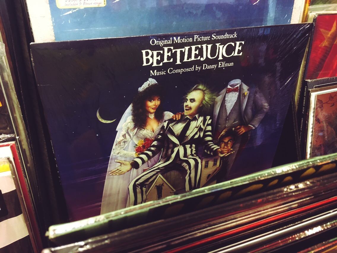 Beetlejuice soundtrack on vinyl