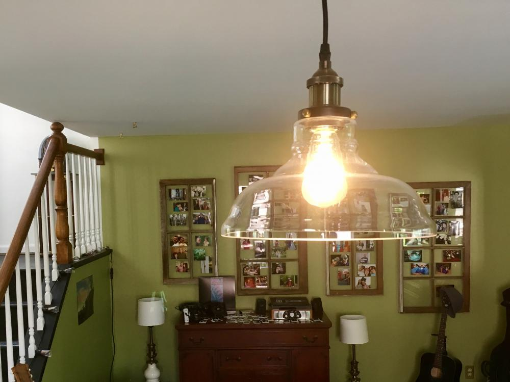 CLAXY Industrial Edison hanging light
