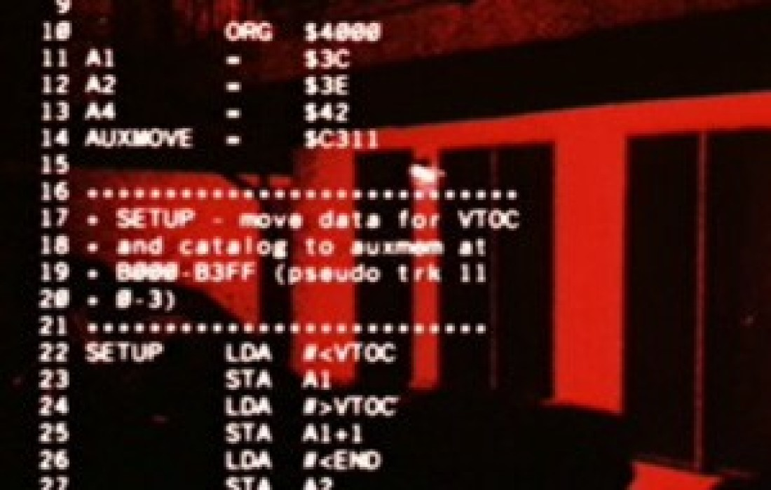 Do Robots Think in Apple II Source Code