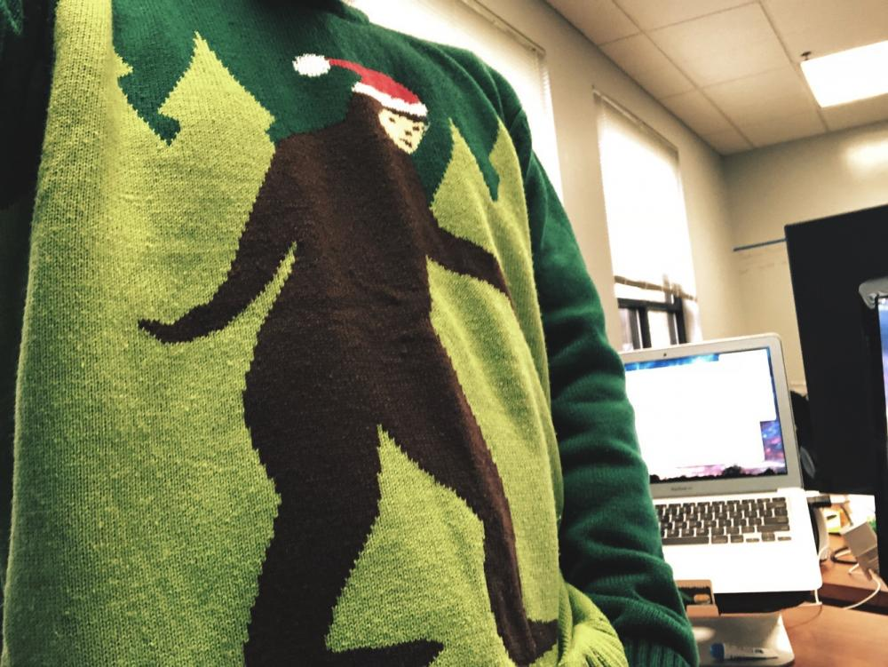 Christmas Sweater by way of Bigfoot 1