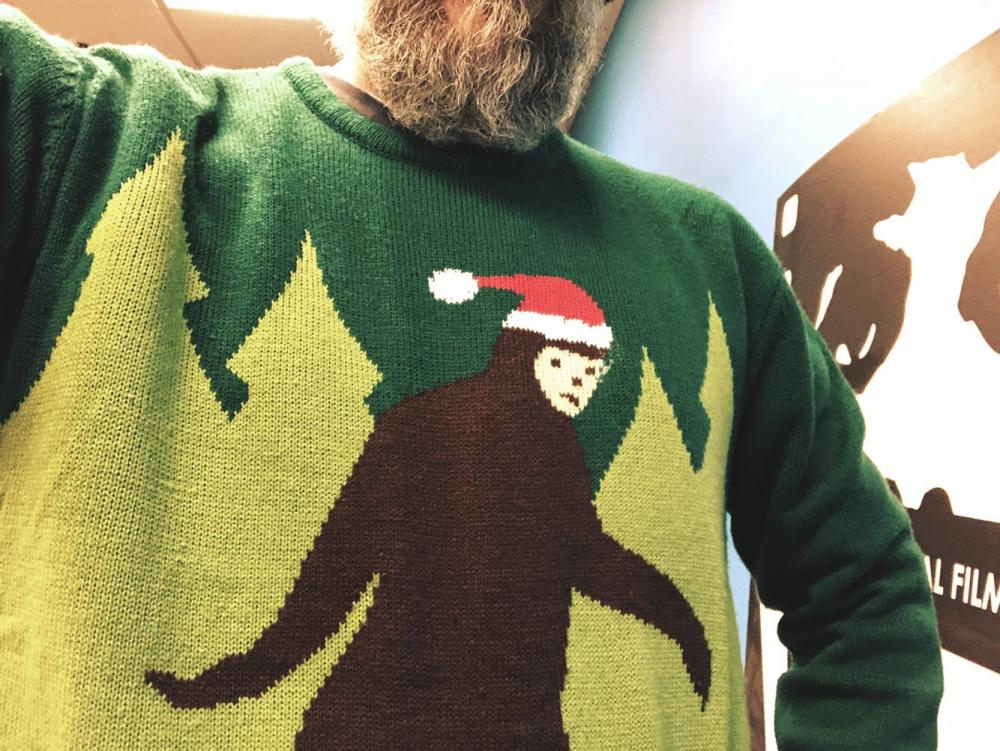 Christmas Sweater by way of Bigfoot 2