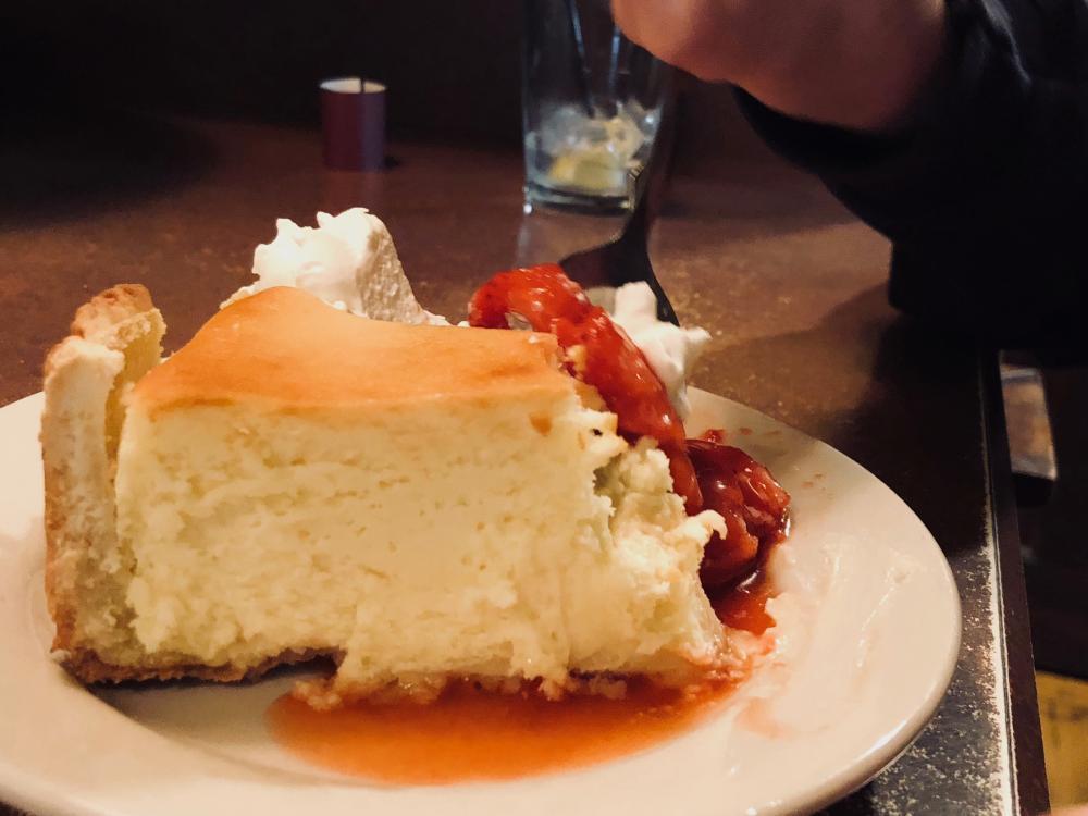 Weekend dessert at Town House Café