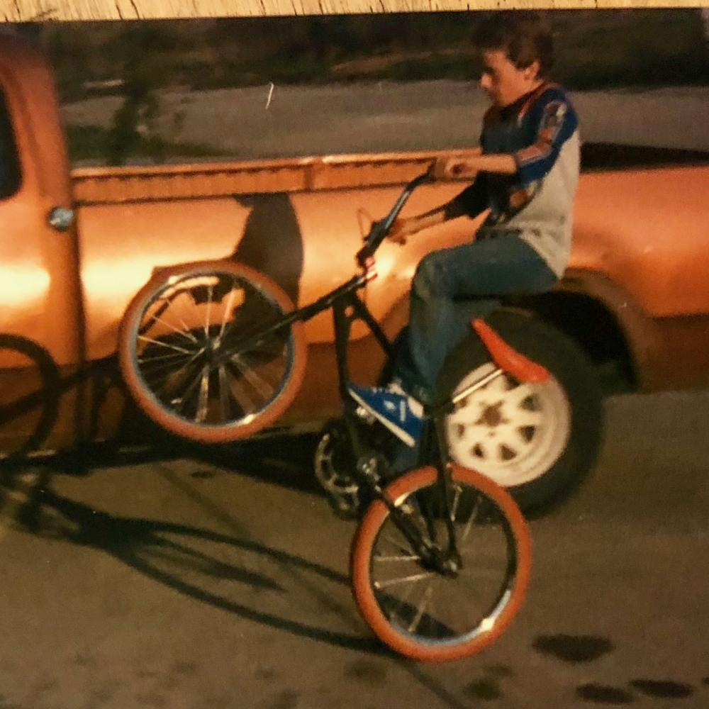 Me and my bike in 1982