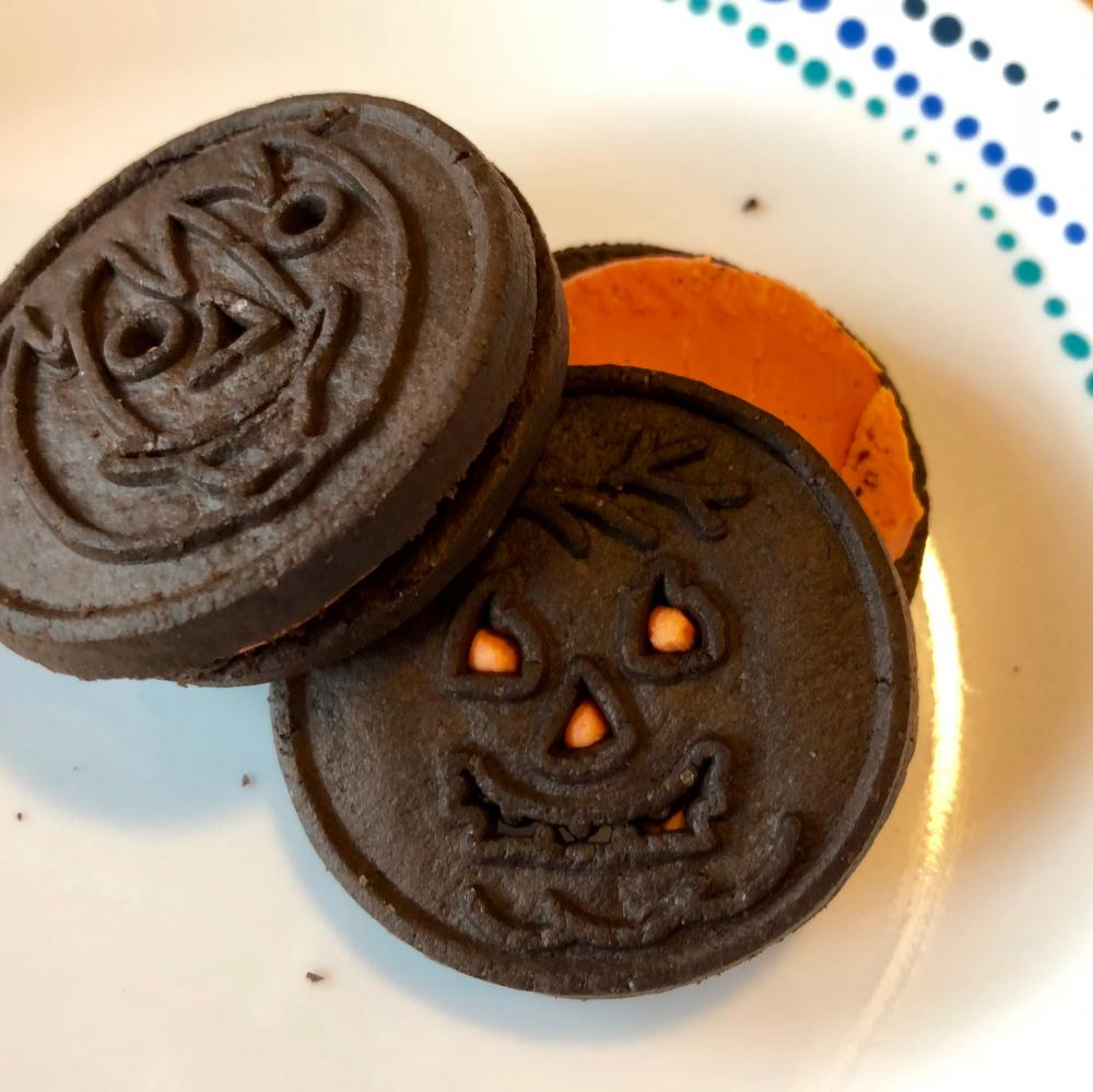 Trader Joe's Halloween cookies