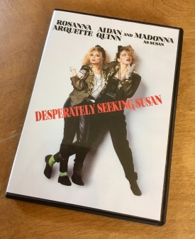 Desperately Seeking Susan on DVD delivered