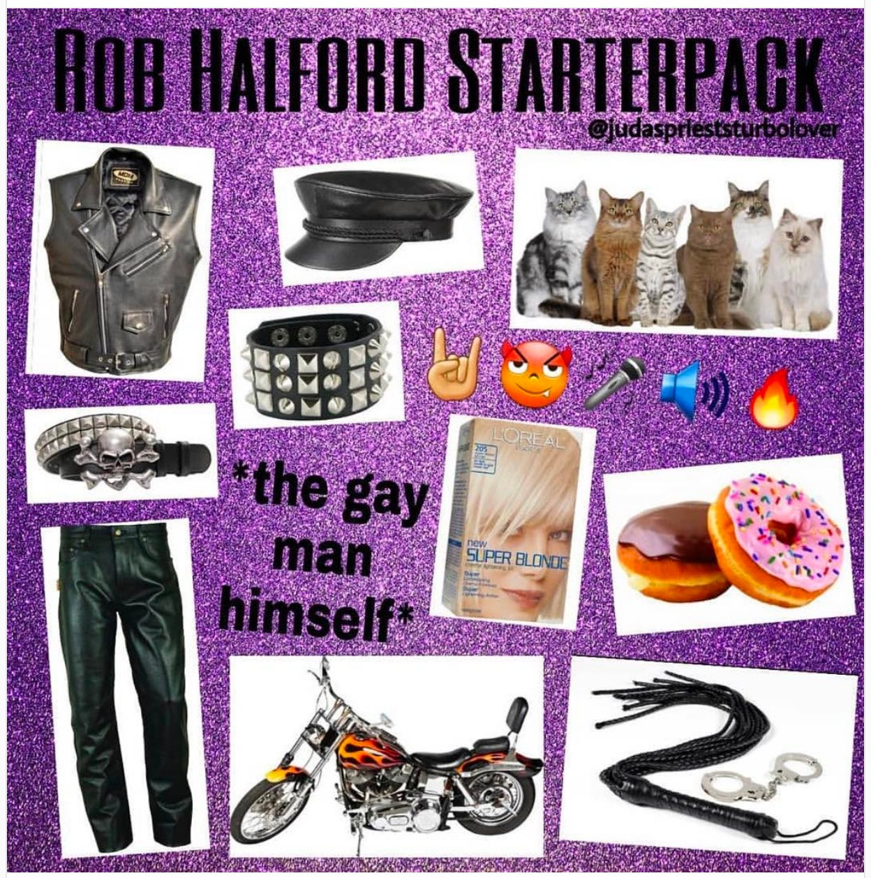 Rob Halford Starterpack